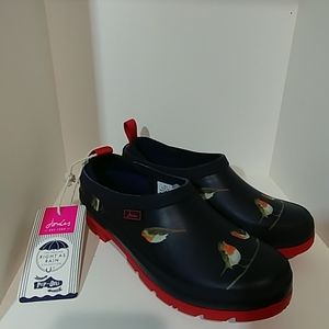 Joules Pop On Navy Robins Size 7